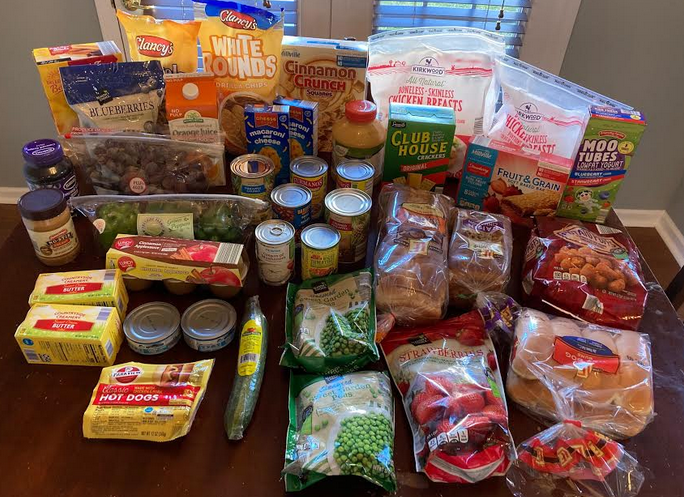 Gretchen's $72 Grocery Shopping Trip and Weekly Menu Plan for 5