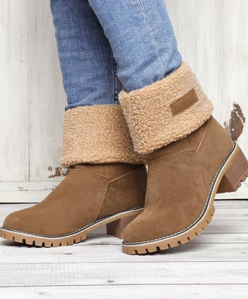 Fold-Over Boots