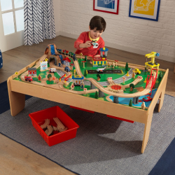 KidKraft Waterfall Mountain Train & Table Set