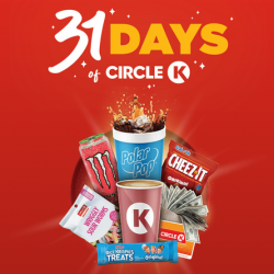 Circle K ''31 Days of Circle K'' Instant Win Game (2+ Million Winners)