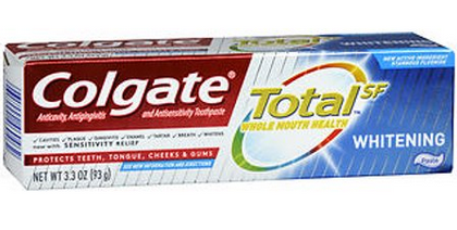 Colgate TotalSF Toothpastes