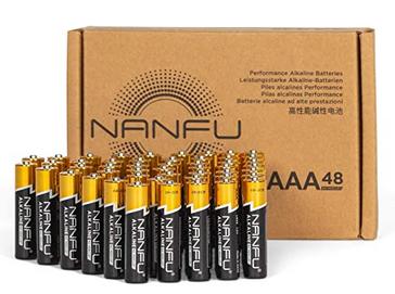 AAA Alkaline Batteries (48 Count)