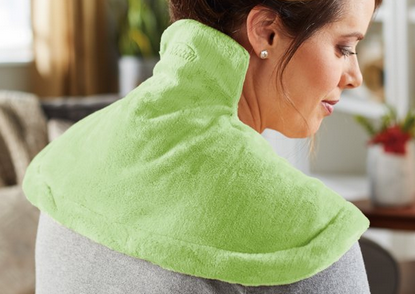 Sunbeam Renue Tension Relieving Heat Therapy Neck and Shoulder Wrap Heating Pad
