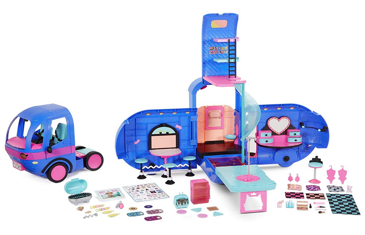 LOL Surprise 4-in-1 Glamper Fashion Camper with 55+ Surprises
