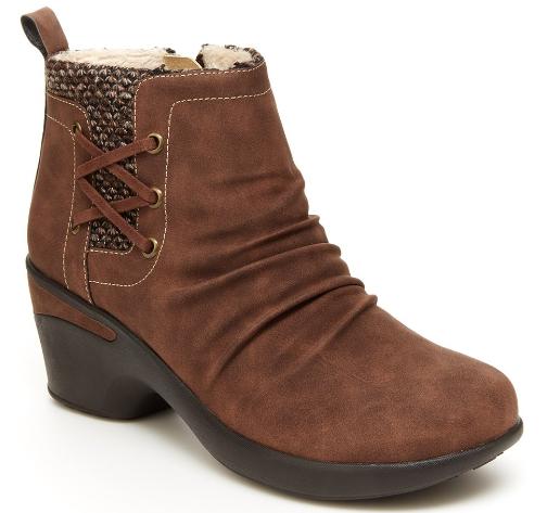 Women's Fur-Lined Nottingham Ankle Boots