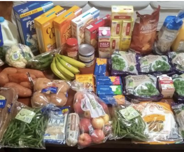 Brigette's $83 Grocery Shopping Trip and Weekly Menu Plan for 6