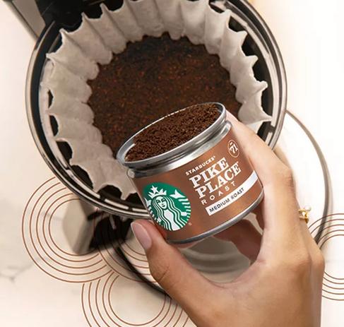 Starbucks Fresh Brew Coffee Cans 8-Packs