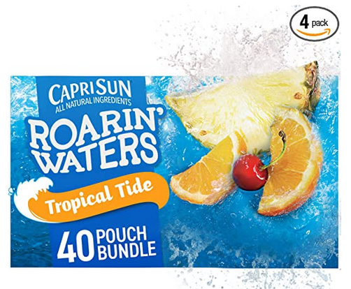 Capri Sun Roarin' Waters Tropical Tide Ready-to-Drink Juice (40 Pouches