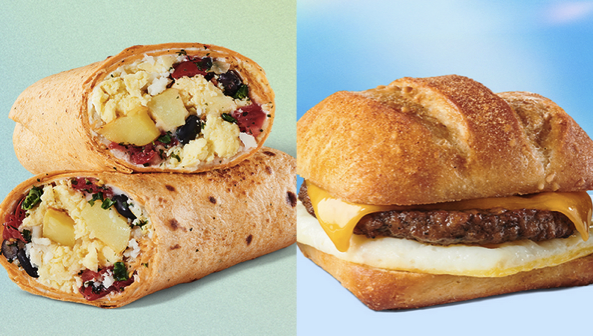 Starbucks deal on breakfast entrees