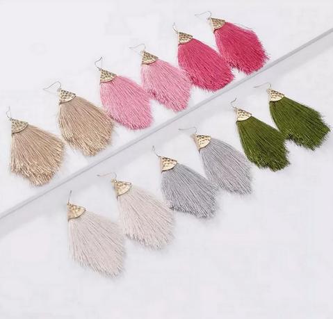 Stunning Tassel Earrings
