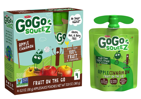 Go Go Squeez Applesauce