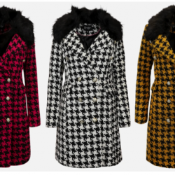 Houndstooth Peacoats