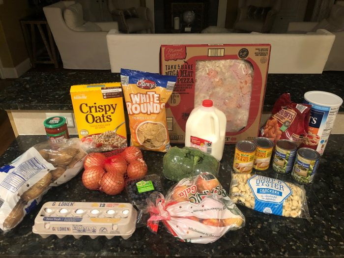 ALDI delivery grocery haul