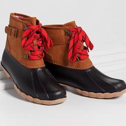 Jade Duck Boots