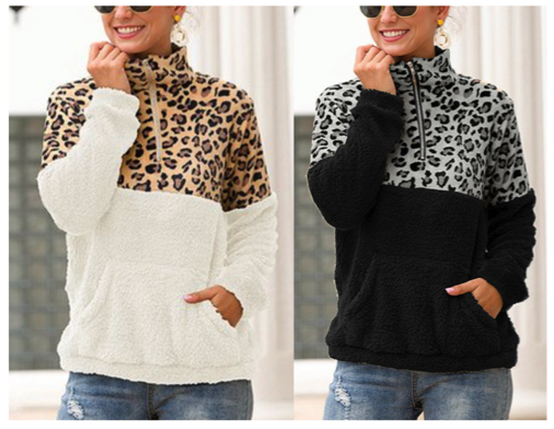 Leopard Print Pullovers
