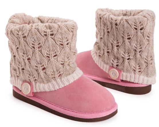 Muk Luks Girls Boots