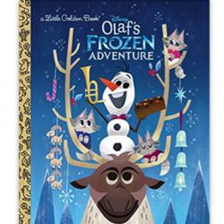 Olaf's Frozen Adventure Little Golden Book