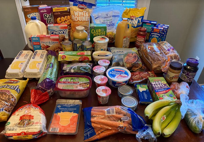Gretchen's $75 Grocery Shopping Trip and Weekly Menu Plan for 5