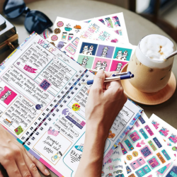 Gratitude Journal + Stickers