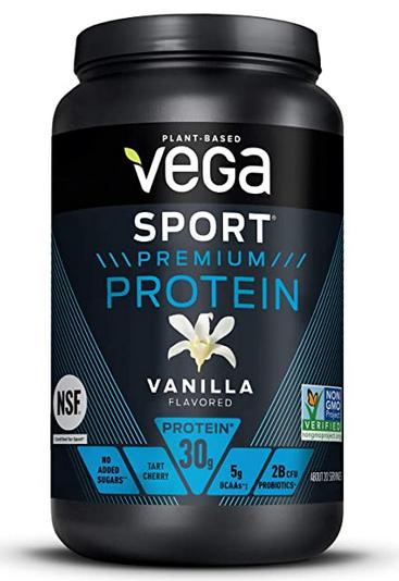 Vega plant protein powders and shakes