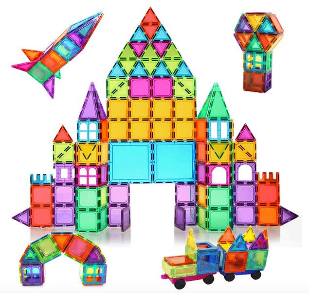 120 PCS Magnetic Building Blocks