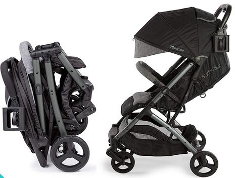 Summer 3Dpac CS+ Compact Fold Stroller