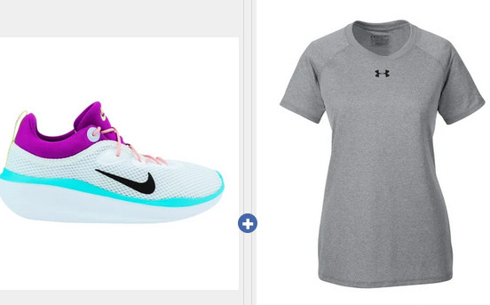Buy Women's Nike's at $39.99, Get a Free Under Armour Shirt
