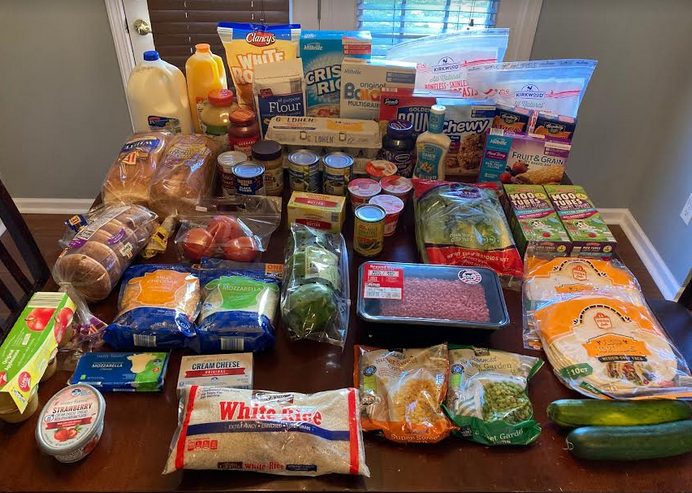 Gretchen's $87 Grocery Shopping Trip and Weekly Menu Plan for 5