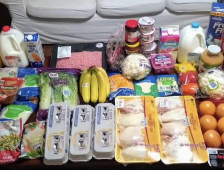 Brigette's $87 Grocery Shopping Trip and Weekly Menu Plan for 6