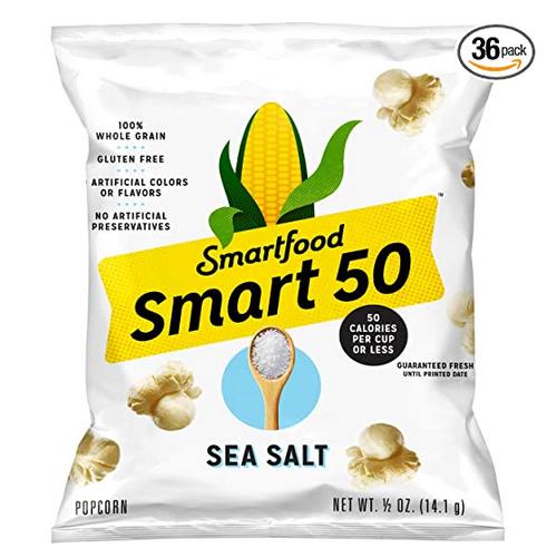 Smart50 Popcorn, Sea Salt