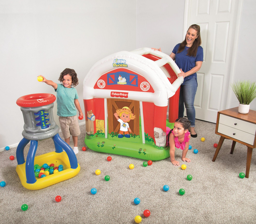Little People Barn Ball Pit
