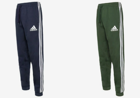 adidas Men's Trefoil Fleece Joggers