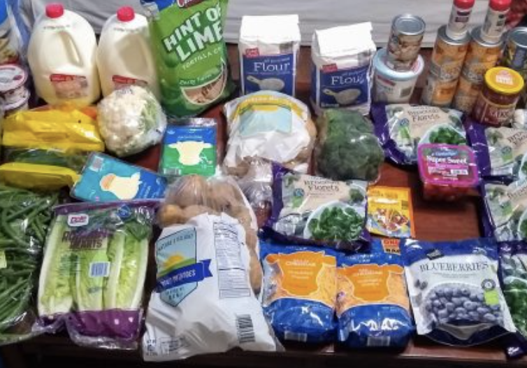 Brigette's $79 Grocery Shopping Trip and Weekly Menu Plan for 6