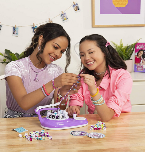 2-in-1 KumiKreator, Necklace and Friendship Bracelet Maker Activity Kit