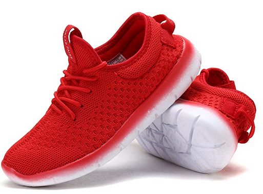 DREAM PAIRS Boys Girls Athletic Running Shoes