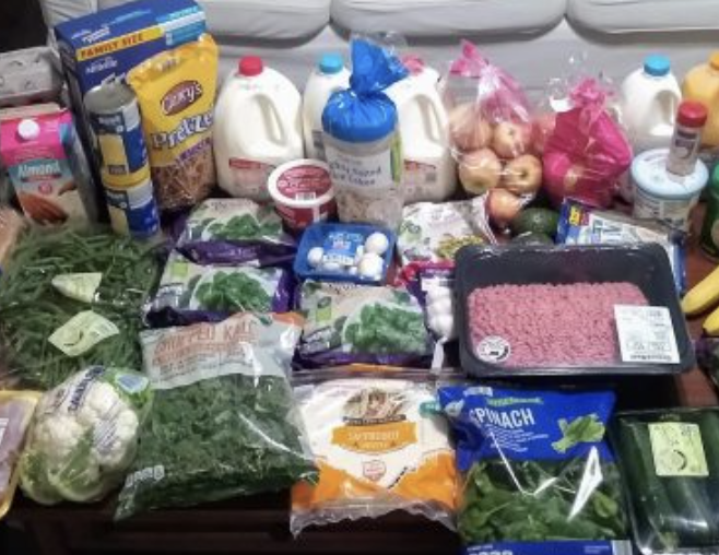 Brigette's $85 Grocery Shopping Trip and Weekly Menu Plan for 6