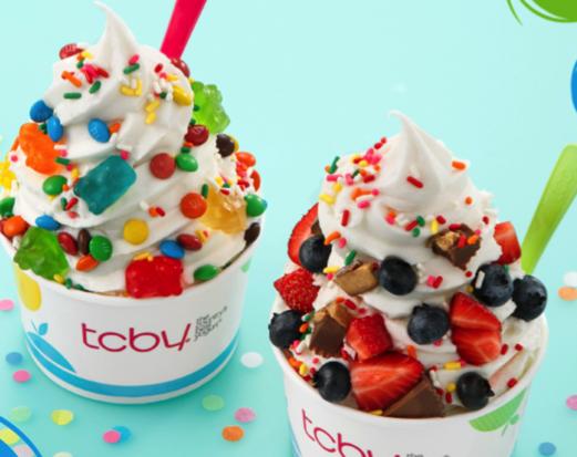 TCBY Buy One Get One Free Frozen Yogurt