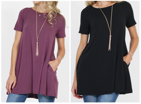 Women's Spring Tunic Tops