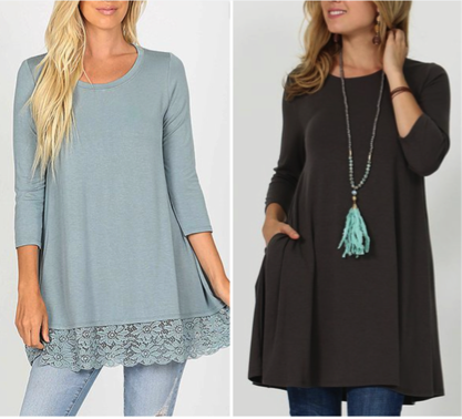 Women's Tunic Tops