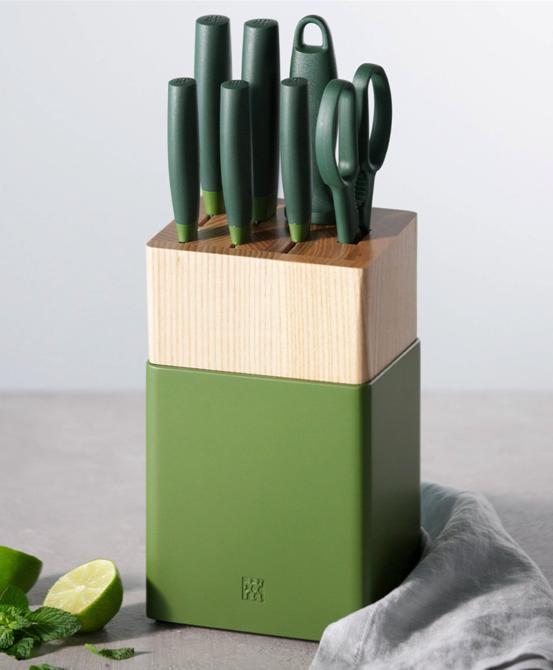 Zwilling Green Knife Set