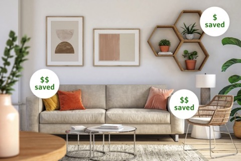 Save money on home decor with Capital One Shopping