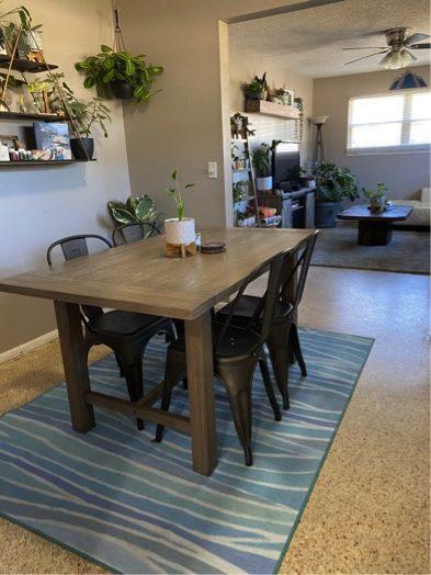 My Magic Carpet Dining Room