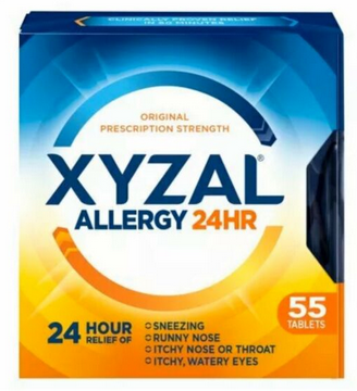 Escaped Example Of Xyzal Allergy 24hr Allergy Alleviation