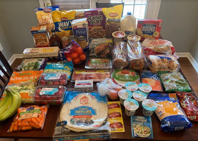 Gretchen's $83 Grocery Shopping Trip and Weekly Menu Plan for 5