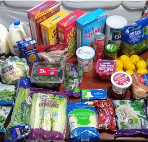 Brigette's $84 Grocery Shopping Trip and Weekly Menu Plan for 6