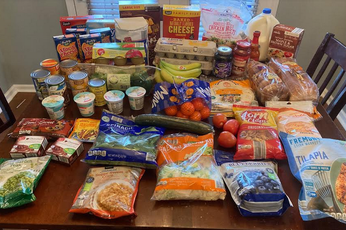 Gretchen's Grocery Shopping Trip and Weekly Menu Plan for 5