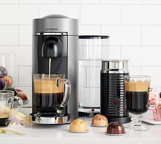 Nespresso VertuoPlus Deluxe Coffee & Espresso Maker Bundle
