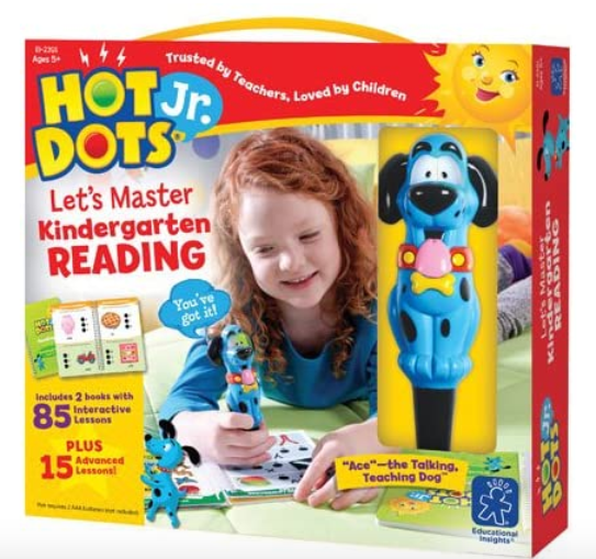 Educational Insights Hot Dots Jr. Let's Master Kindergarten Reading Set