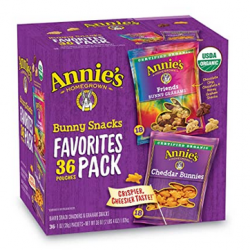Annie's Homegrown Homegrown Bunny Snacks 36 Pouches