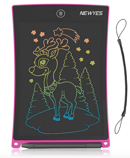 LCD Writing Tablet 8.5 Inch Colorful Drawing Doodle Board